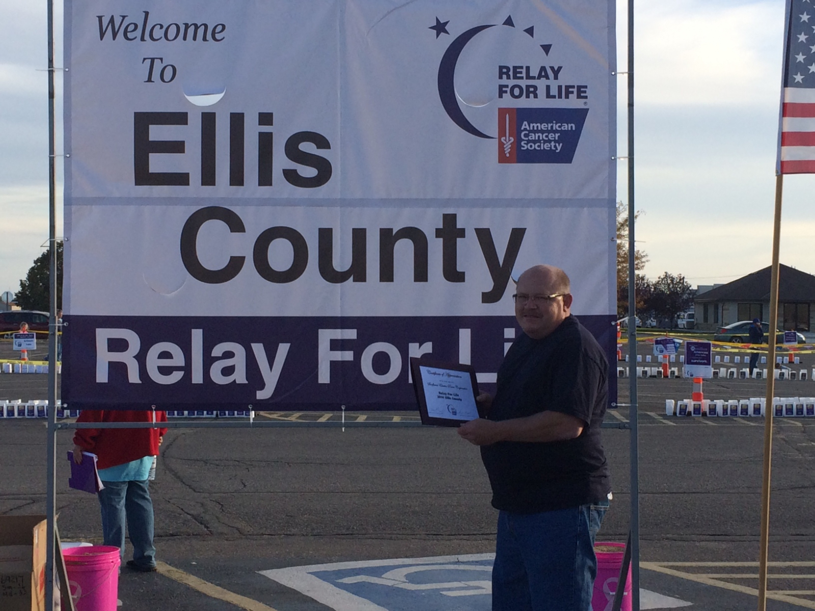 141018  Ellis co relay for life