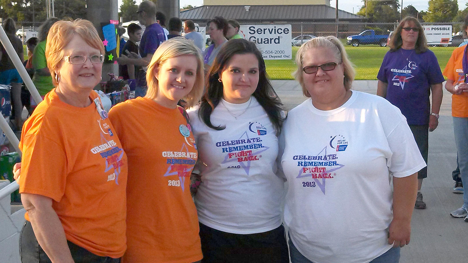 2013 Karen, Erica, Stephanie Franco, Ellen Watkins Relay For Life