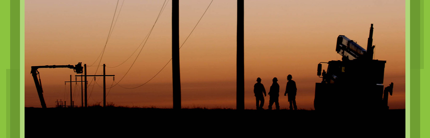 Sunset-Linemen