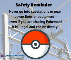 safety reminder